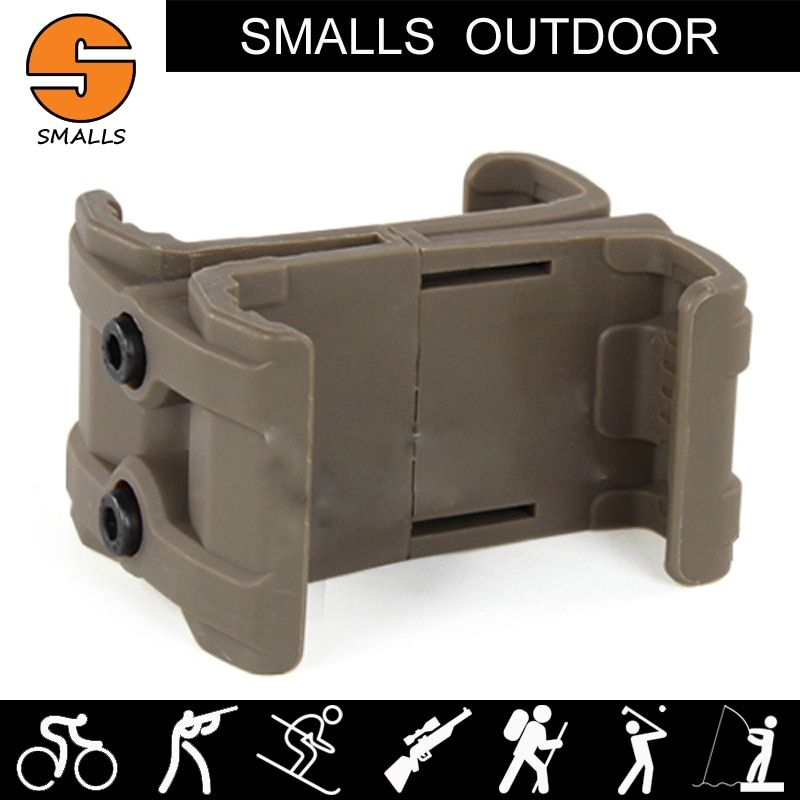 military airsoft ar 15 tactical accessories ABS magazine pouch holder Adjustable Plastic Connecting Piece For Vest for hunting