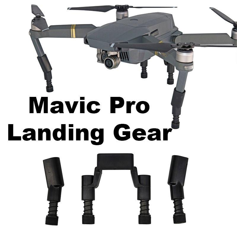 Fahrwerk Kits für DJI Mavic Pro Platin Drone Protector Schutz Erhöhte Verlängern Bein füße mit Frühling Stoßfest Ersatzteile