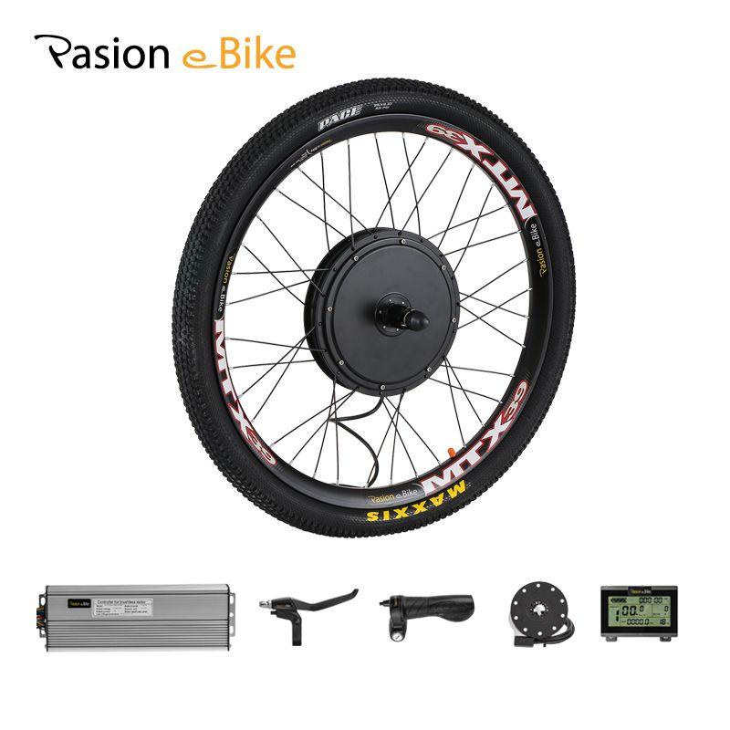 PASION E BIKE Conversion Kit 48V 1500W Cassette Motor Wheel Electric Bike Kit Electric Bicycle Conversion Kit Rear Hub Motor Kit
