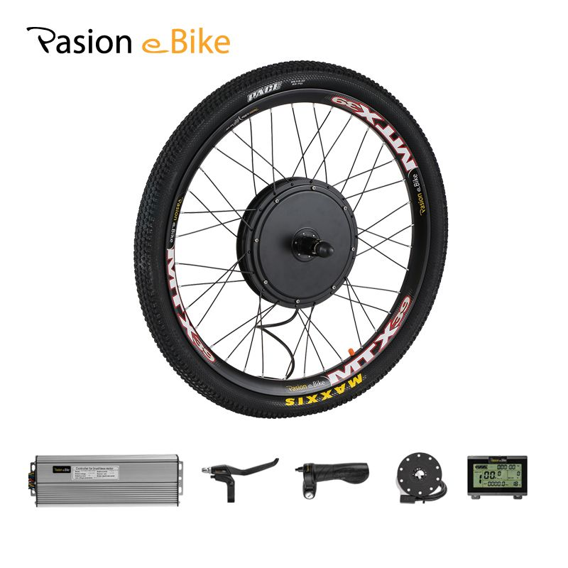 PASION E BIKE Conversion Kit 48V 1500W Cassette Motor Wheel Electric Bike Kit Electric Bicycle Conversion Kit Rear Hub Motor Kit