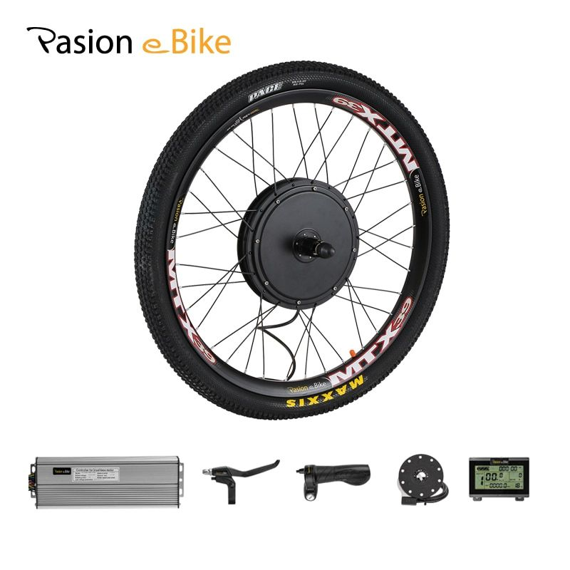 PASION E BIKE Conversion Kit 48V 1500W Cassette Motor Wheel Electric Bike Kit Electric Bicycle Conversion Kit Rear Wheel Motor
