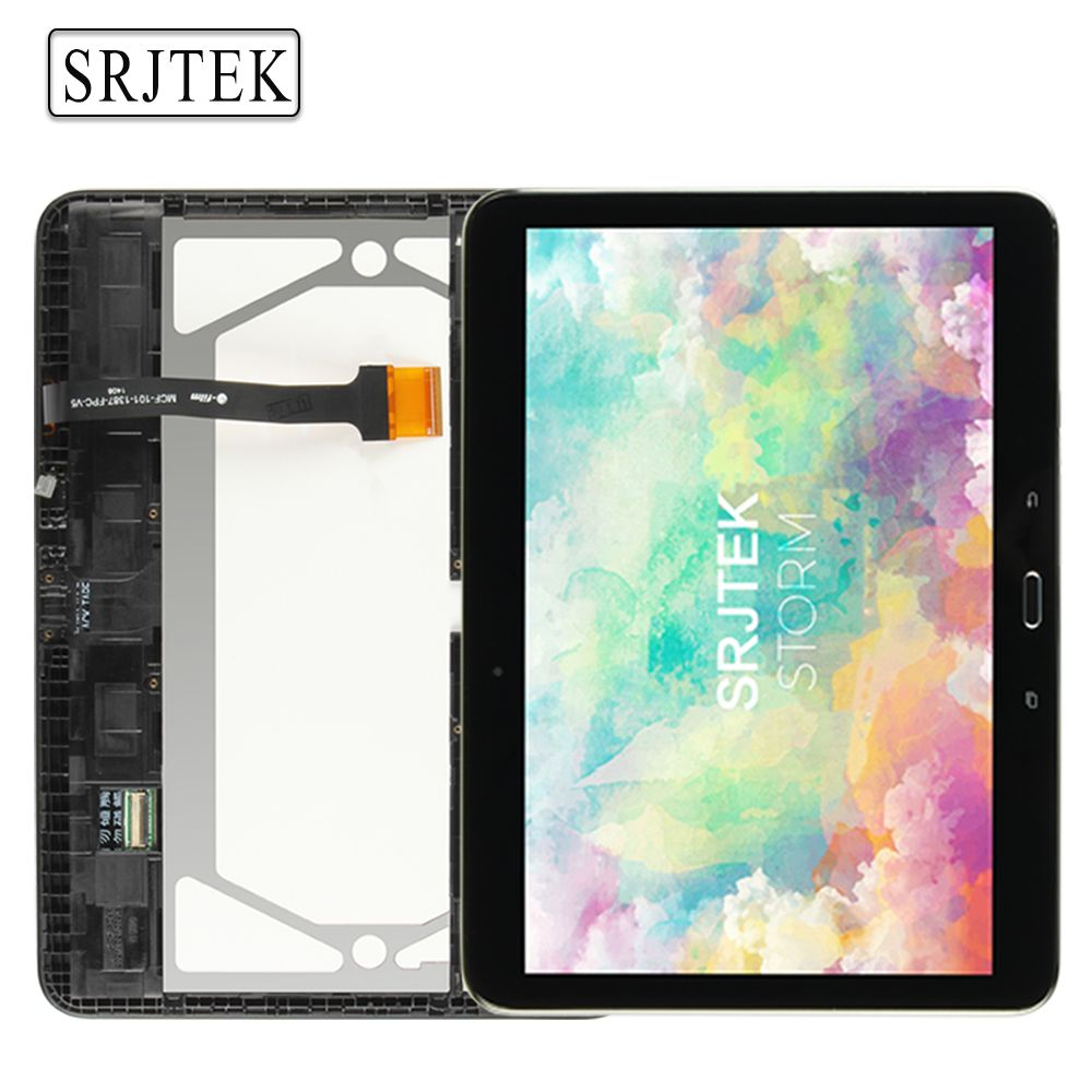 For Samsung Galaxy Tab 4 10.1 T530 T531 T535 Tablet PC LCD Display Screen With Touch Glass Digitizer Full Assembly With Frame