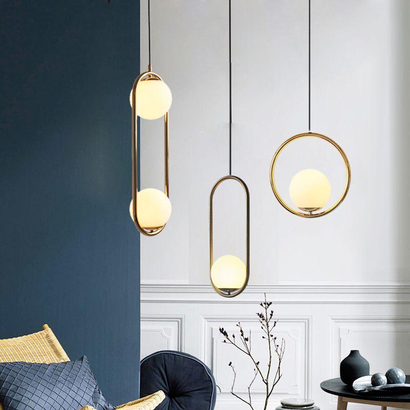 Postmodern Creative italie Designer pendentif lumière Art Loft salle à manger café magasin suspendus lumières Bar chevet Led lumières