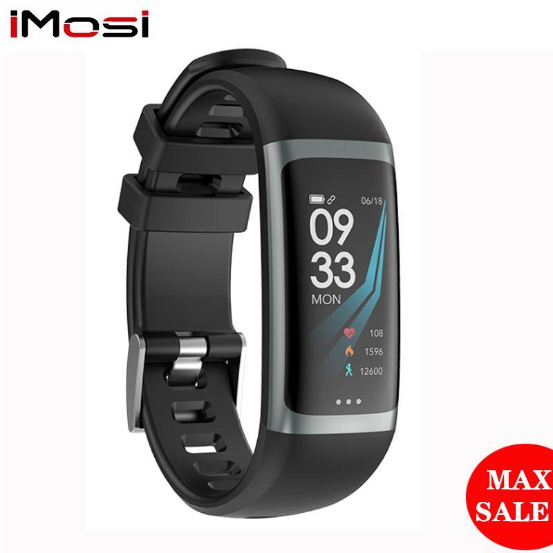 Imosi G26 Bracelet intelligent P67 étanche fréquence cardiaque pression artérielle oxygène Fitness Bracelet Multi Sport Mode Bracelet intelligent