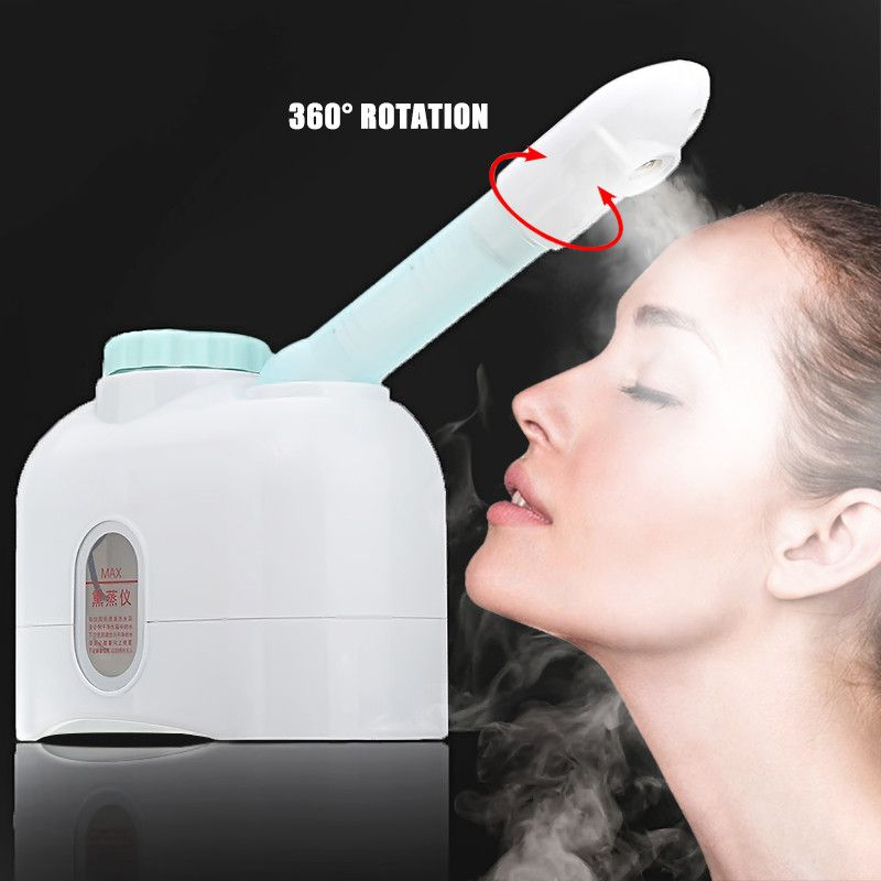Facial Steamer Ozone Sprayer Vaporizer Desktop Essential Oil Massage Healthy Skin White Care Moisturizing Exfoliating Instrument