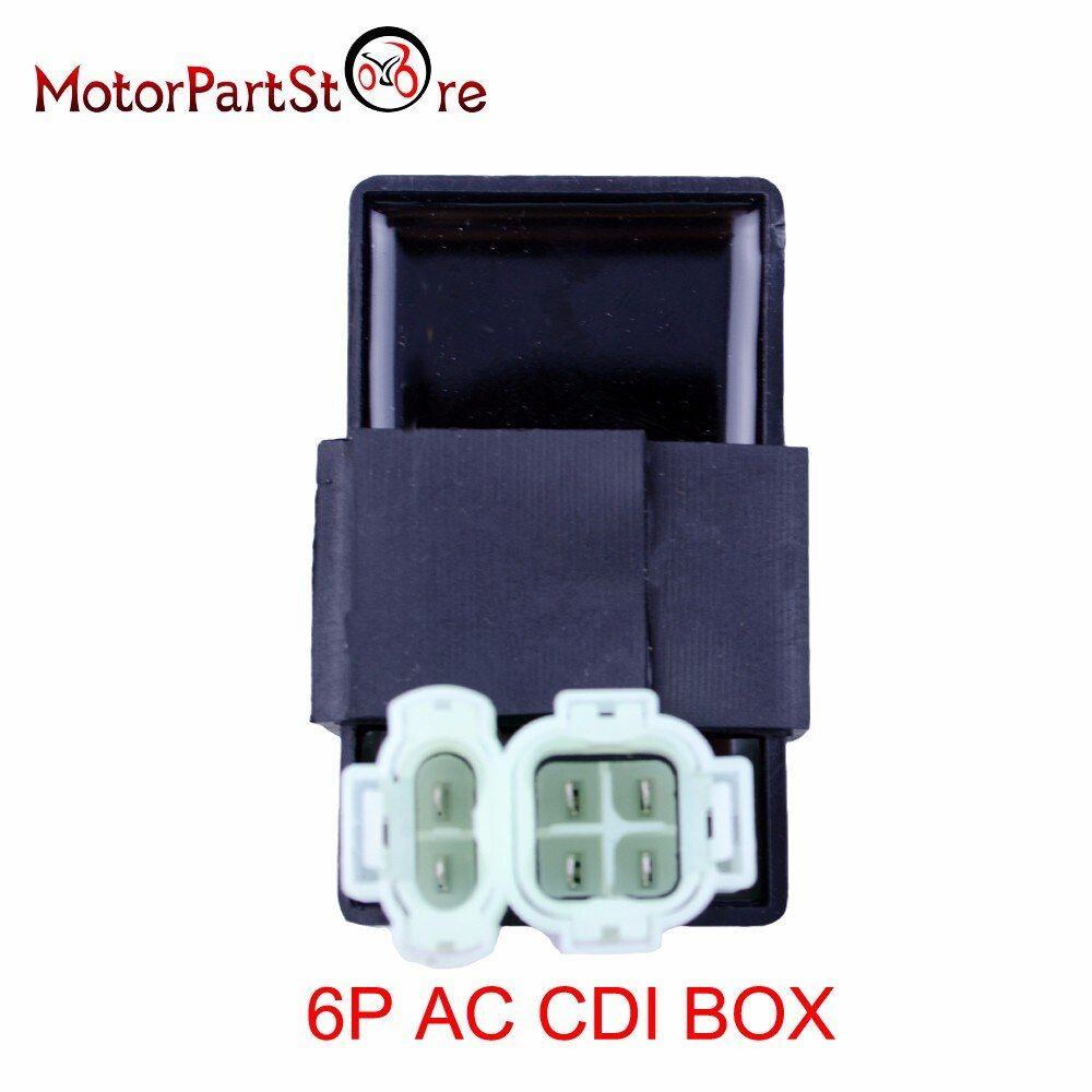 AC CDI Box 110cc 125cc 150cc 200cc 250cc ATV Bike For Go Kart Sunl Taotao 6P Pin *