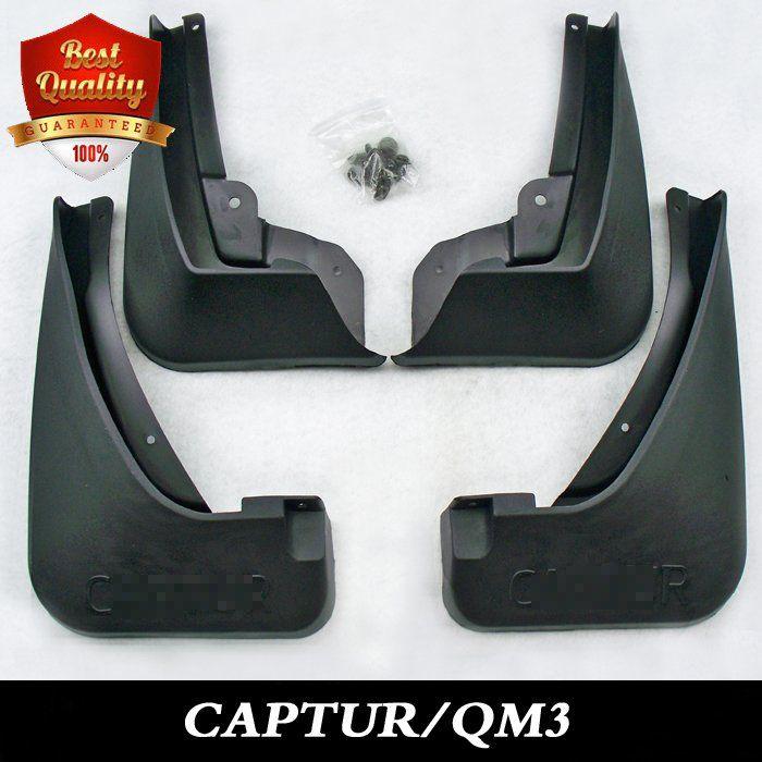 Special Mud Flaps Splash Guards Cover Car mudguards Fenders Splasher Mudflap Fit for RENAULT CAPTUR / SAMSUNG QM3