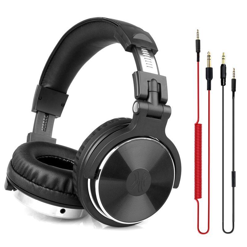 Oneodio DJ Headphone with Microphone Gaming Hifi Headset DJ Earphone For Phone High Quality Professional Studio Headphone Hifi