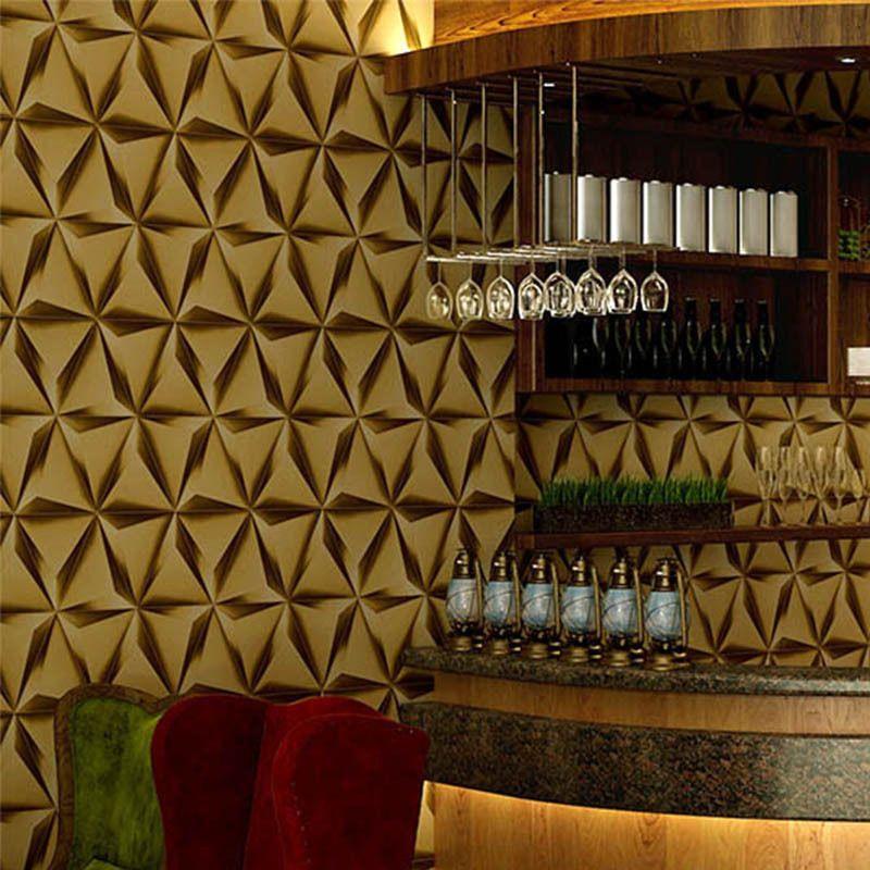 Modern wallpaper for walls 3 d Personalized Wall Murals Vinyl Wallpaper PVC Waterproof Backdrop Wall Paper Roll papel de parede