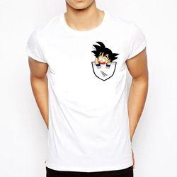 Dragon Ball T-shirt Hommes D'été Dragon Ball Z super fils goku Slim Fit Cosplay 3D T-Shirts anime vegeta DragonBall T-shirt Homme