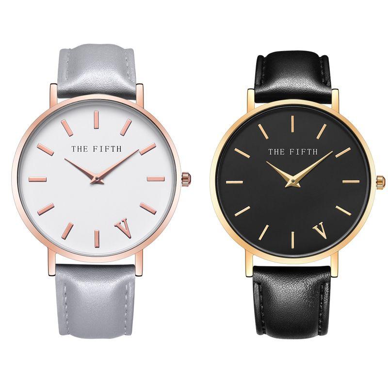 Estilo simple de los hombres mujeres cuarzo reloj 2017 Top marca de moda reloj hombres reloj Relogio masculino moda casual Wa