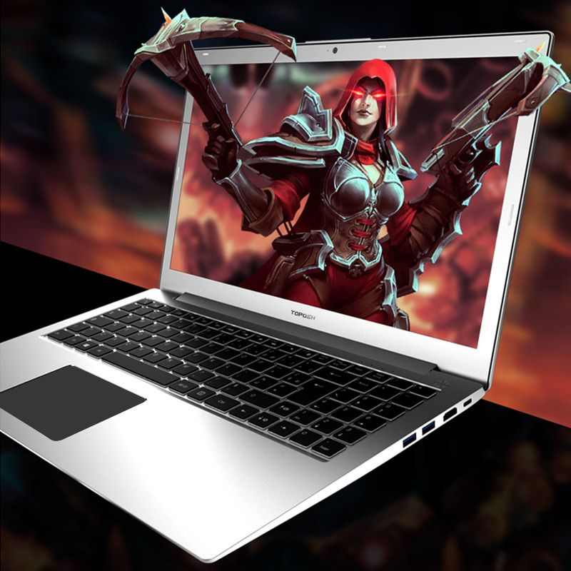 Laptop P10 15,6 zoll Intel i7-6500 Quad Core 2,5 GHZ-3,1 GHZ 128/256/512G SSD high-speed-Design Gaming Laptop Computer notebook