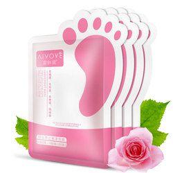 AFY (AIVOYE) 2 pcs/sac Pied Masque Dead Skin Remover Essence Végétale Pieds Blanchissant Hydratant Peeling Pieds Masque Membrane