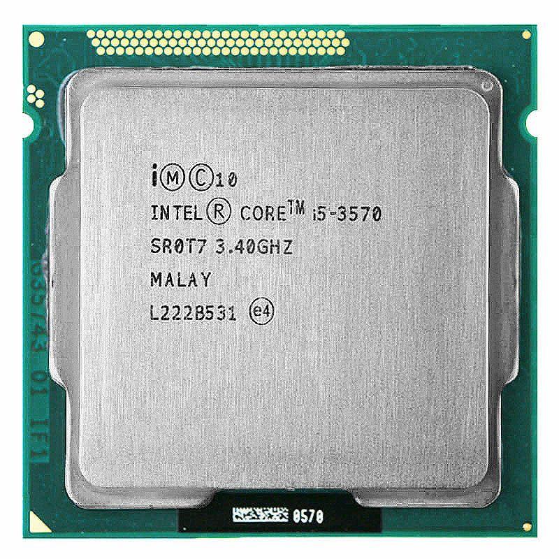 Intel Core i5 3570 processor i5 -3570 3.4GHz/ 6MB LGA 1155 CPU Processor  HD 2500 Supported memory:  DDR3-1333, DDR3-1600
