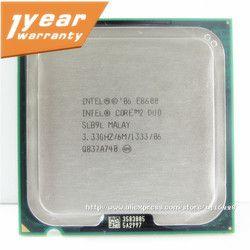 Intel Core 2 Duo E8600 Processeur 3.33 Ghz 6 M 1333 MHz Socket 775 CPU