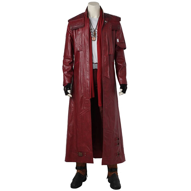 Guardians of The Galaxy 2 Star Lord Cosplay Costume Outfit Peter Quill Cosplay Halloween Superhero Party Men Adult Custom Made