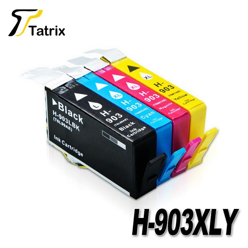 Pour HP 903 XL 903XL BK/C/M/Y Nouveau Complet Cartouche D'encre Pour HP Officejet Pro 6960 6961 6963 6964 6965 6966 6968 6970 6971 6974 6975