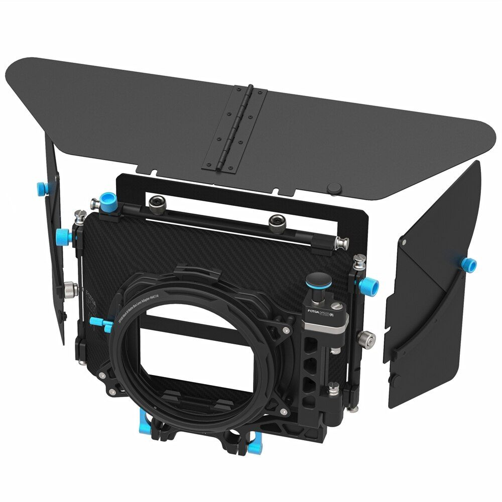 FOTGA DP500III Pro DSLR mat boîte parasol avec beignets porte-filtre pour A7 II A7RII A7S II BMPCC 5 DIII 15mm tige plate-forme