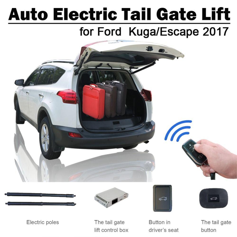 Smart Auto Elektrische Schwanz Tor Lift für Ford Kuga Escape 2017 Fernbedienung Stick Sitz Taste Control Set Höhe Vermeiden prise