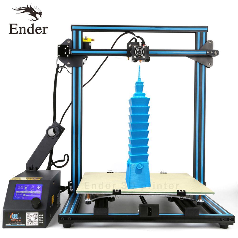 CR-10 S4 3D Drucker DIY Kit Filament Überwachung Alarm, dual-Führenden-schrauben Stange drucker 3D n 2 KG Filament 400*400*400 große größe