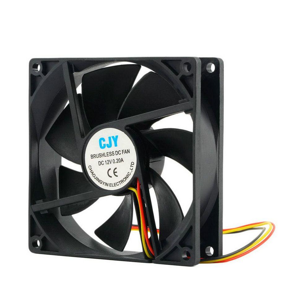 1 stück 12 V 3-Pin 9 cm 90x25mm 90mm CPU Kühlkörper kühler Lüfter DC-LÜFTER 65 CFM Hohe Qualität Schnelles Freies