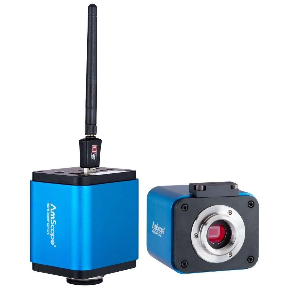 AmScope HD205-WU 5MP 1080 p HDMI WiFi Digitalkamera für Alone und PC Imaging