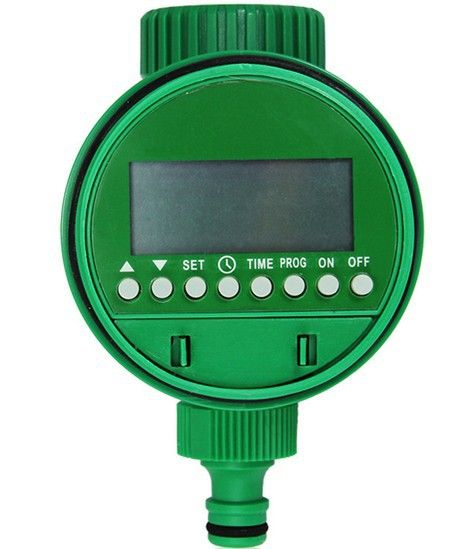 Irrigation LCD Water Timer With Ball Valve Digital And Electronic LCD Garden Water Timer Low Water Pressure Irrigation System
