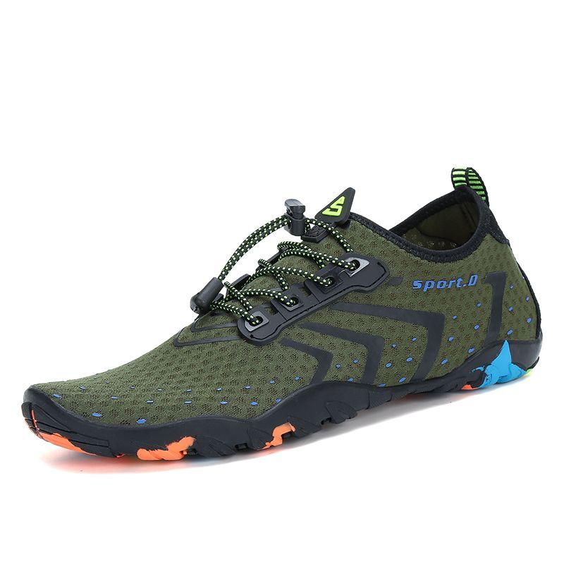 Aqua chaussures été chaussures eau hommes respirant plage chaussons en amont chaussures femme natation sandales plongée chaussettes Tenis Masculino