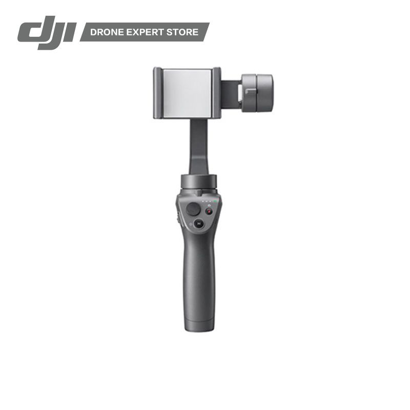 DJI Gimbal Osmo Mobile 2 3-Axis Handheld Stabilizer for Smartphone iPhone Samsung Huawei Xiaomi LG Making Smooth Video