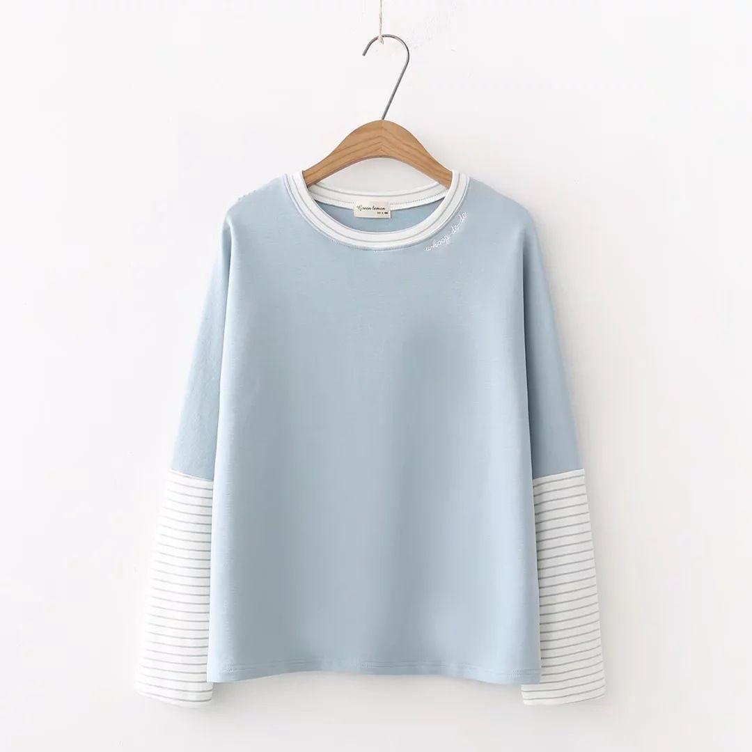 2018 new summer wear printed women's wear T-Shirts thin body repair and regular bottoming shirt