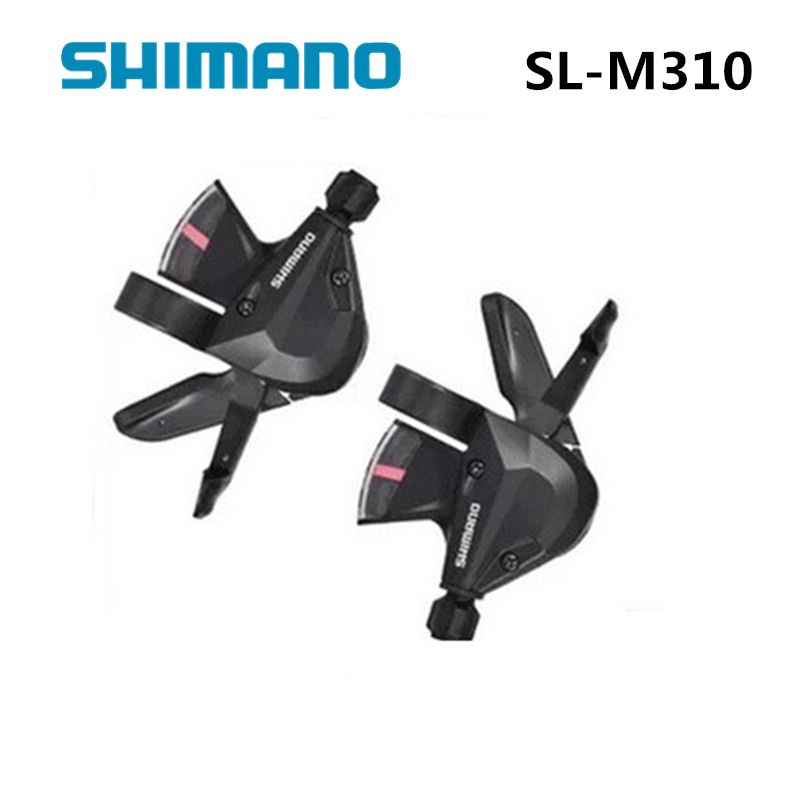 SHIMANO SL M310 Thumb Shifter trigger Left & Right MTB Mountain Bike Derailleurs 3 x 8s/7s 21 24 Speed Bicycle Transmission