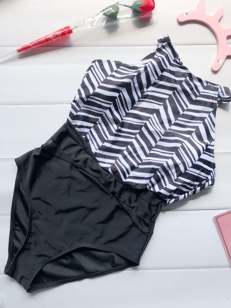 2017 New Net Pattern One-Piece Swimsuit Bathing Suit Swimwear For Women