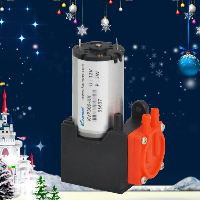 Kamoer KVP300 micro diaphragm vacuum pump with DC motor mini air pump 12V/24V with high nagative pressure/Vacuum degree