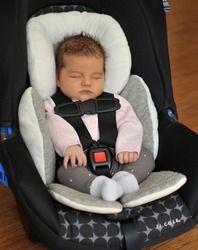 Cochecito de bebé cojín del asiento de coche accesorios carriage almohadilla térmica liner hombro correa cubierta Masajeadores de cuello protección