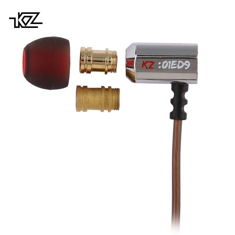 KZ ED9 Super Bowl Tuning Nozzles Earphone In Ear Monitors HiFi Earbuds With Microphone Transparent <font><b>Sound</b></font>