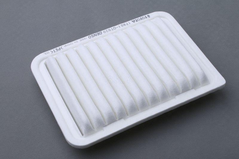 Filtre à air pour Toyota Corolla 1.6L/1.8L, 2010 Vios 1.3L/1.6L, Yaris, 2011 verso 1.6/1.8/2.0; Zotye Z300 oem: 17801-0T020
