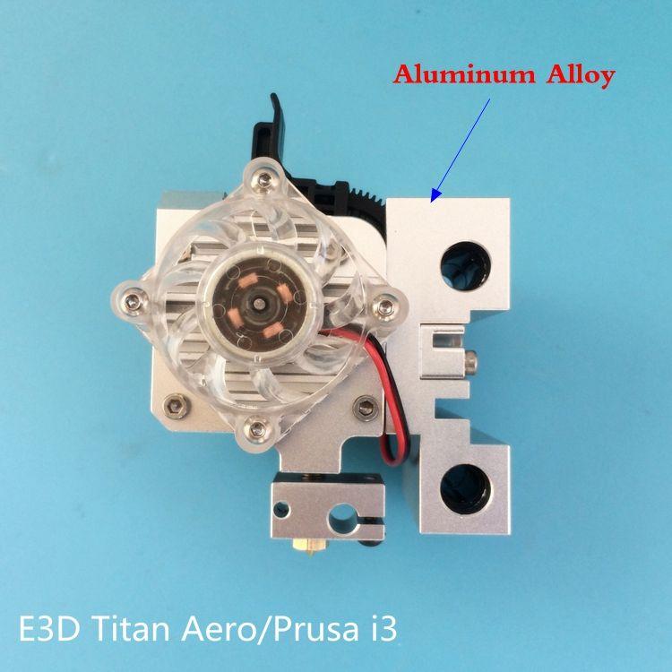 1 set Assembled Prusa i3 Aero Upgrade Kit -Titan Aero Upgrade kit extruder + Aluminum Prusa i3 MK2 X carriage Titan Aero Mount