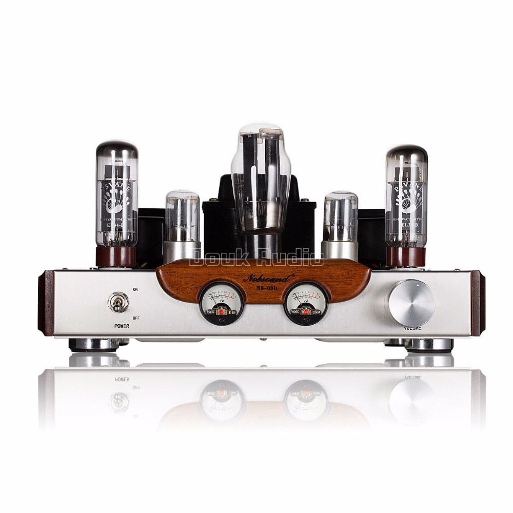 2018 Latest Nobsound High-end PSVANE EL34 Tube Amplifier Class A power Amp Brushed Metal Panel HiFi Amplifier