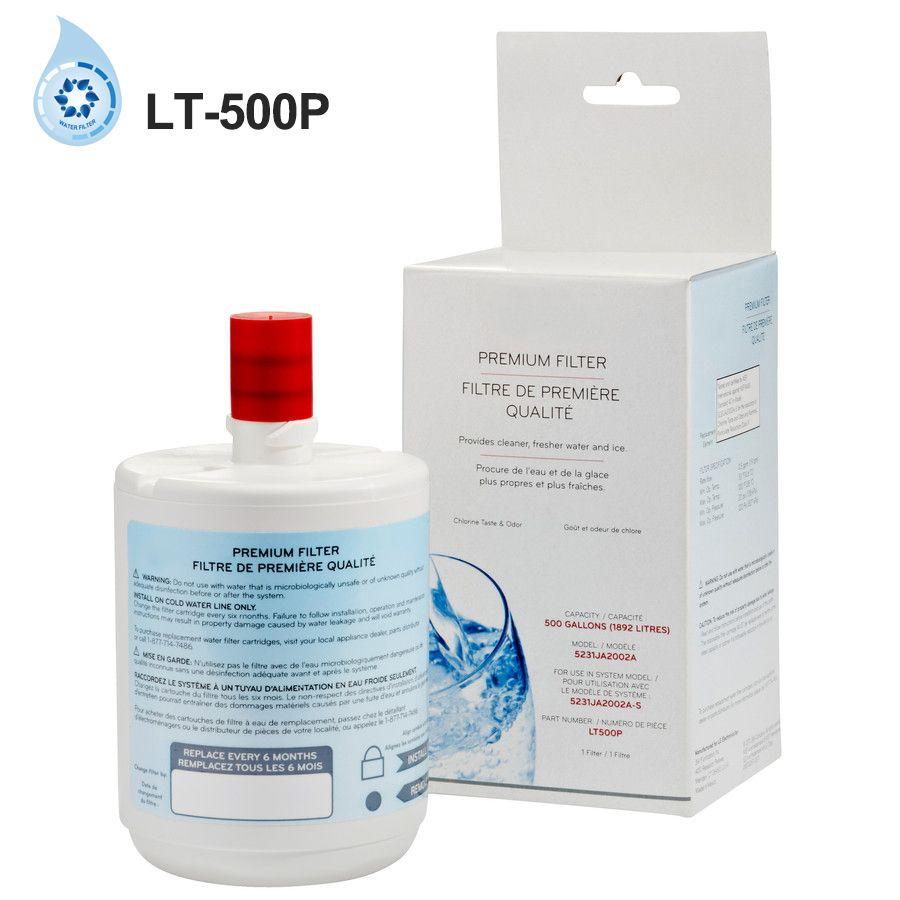 Ménage cuisine purificateur d'eau filtre Lt-500p potable directe carbone réfrigérateur filtre remplacement pour LG Lt-500p 1 pièce