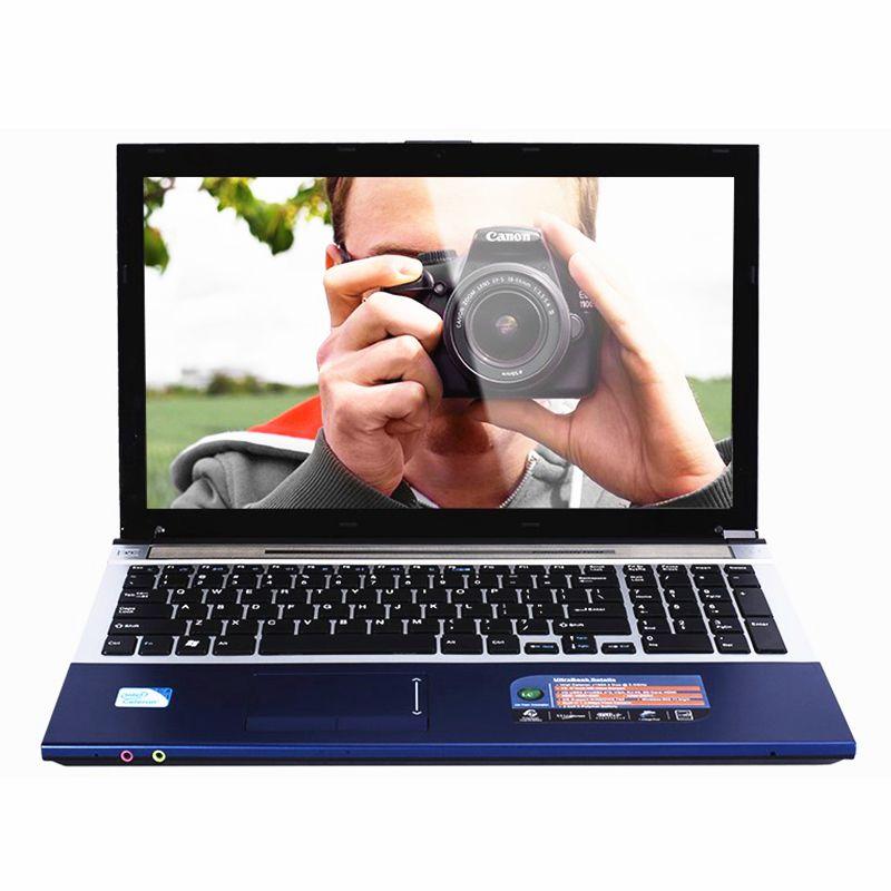 15.6inch 8GB RAM+120GB SSD+1TB HDD Windows 10 System 1920X1080P FHD DVD WIFI Bluetooth Intel Core i7 Laptop Notebook Computer