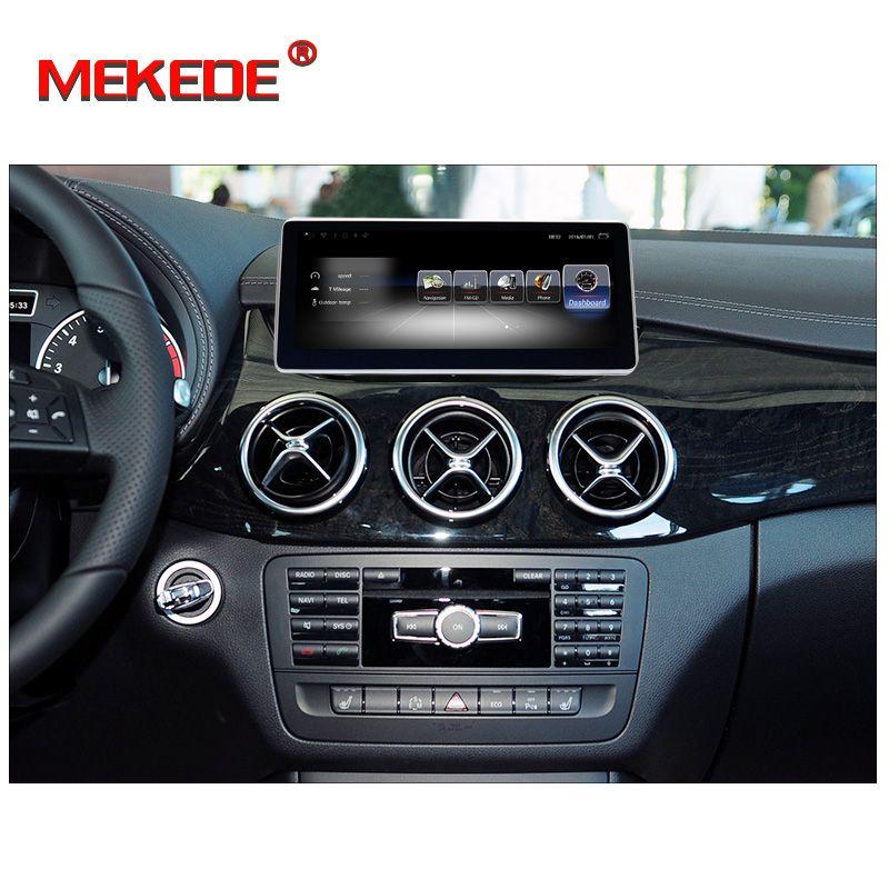 Neue ankunft! android7.1 Auto Radio Auto dvd Player fit für Mercedes Benz B Klasse W246 2012-2018 unterstützung 4G wifi bluetooth radio RDS