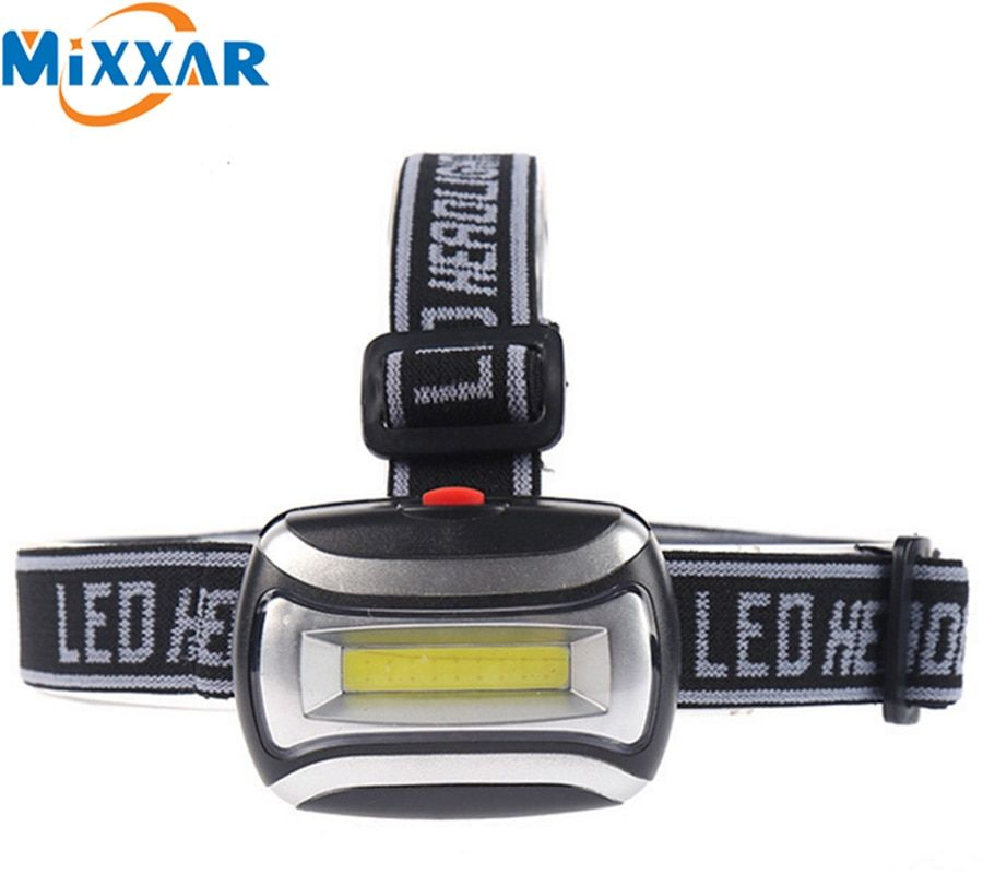 Nzk90 Waterproof LED 600LM Mini COB Headlight Fishing Outdoor Camping Riding Light Rotate Headlamp Lamp Frontale Head lamp Torch