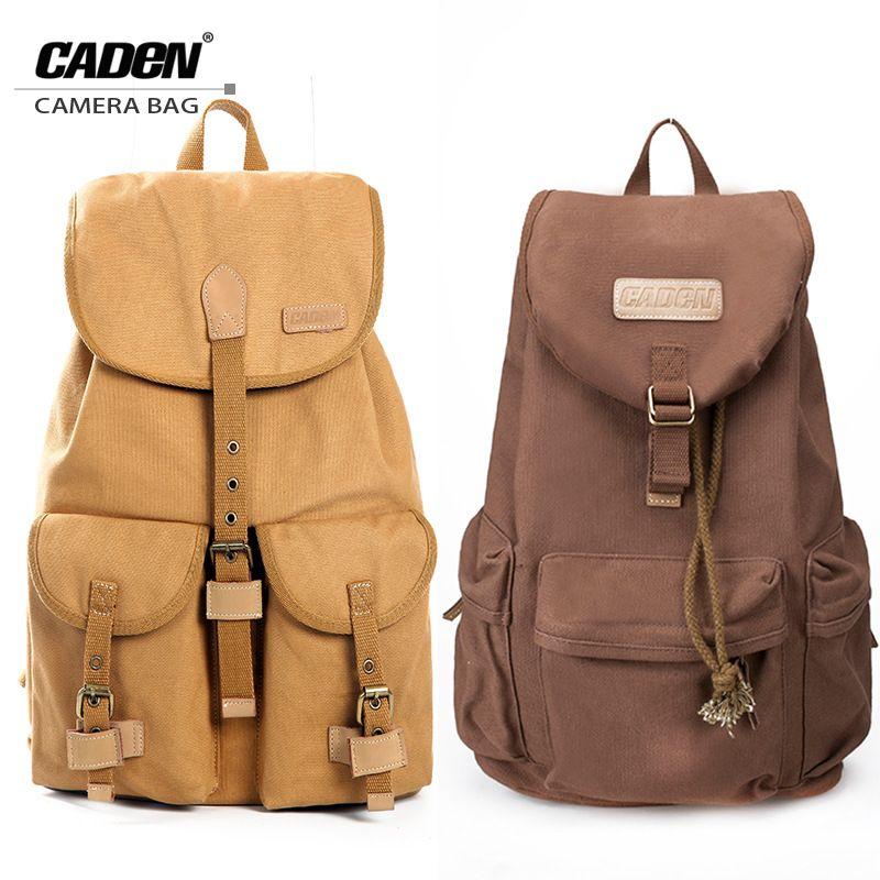 CADeN extérieur Mochila Camara sac sacs à dos toile lentille sacs pour ordinateur portable étanche pour DSLR Sony Canon t6i Nikon D90 F5