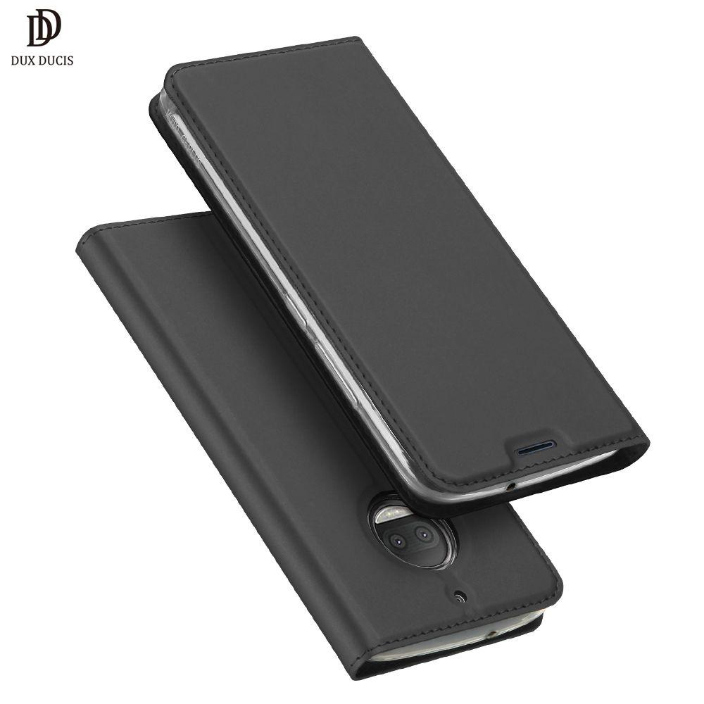 DUX DUCIS Luxury Flip Leather Case For MOTO G5S Cases G5S Plus Wallet Cover Cases For Motorola Moto G5S Plus XT1805 XT1806 Cover