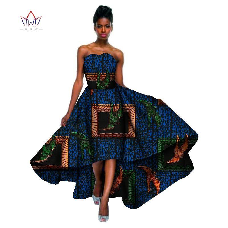 Новый Мода 2017 г. Дизайн Африканский Воск принт Платья для женщин для Для женщин Базен Riche плюс Размеры 6xl Африка сексуальные длинное платье д...