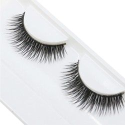 1 Pair Woman False Eyelashes Cross Thick False Eye Lashes Extension Makeup Super Natural Long Fake Eyelashes Extension Tools