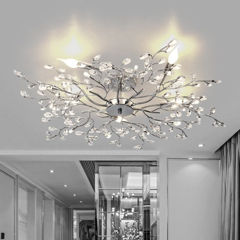 Ceiling Lights Plafonnier Led Lamp Lamparas De Techo Iluminacion Kids Room Light Plafondlamp Lighting Suspension Lustre Cristal