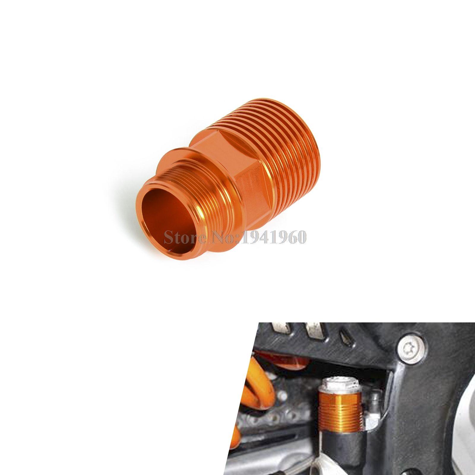 Rear Brake Reservoir Extender For KTM 125 250 350 450 500 525 530 SX SXF XC XCW EXC EXCF 2004-2014 2015 2016 Husqvarna TE FE TC