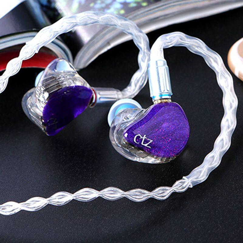 CTZ DIY Custom Made 16BA Balanced Armature Unit Drivers 0.78mm 2 Pin Earphone DJ Noise Canceling Headphone for iPhone xiaomi
