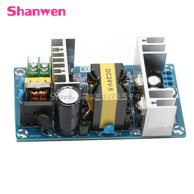 AC 100-240V to DC 24V 6A 150W Power Supply AC-DC Power Module Board Switch G08 Drop ship
